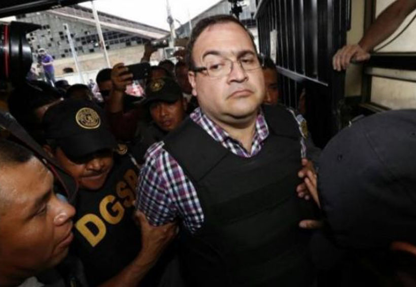 Javier Duarte está en huelga de hambre | El Imparcial de Oaxaca