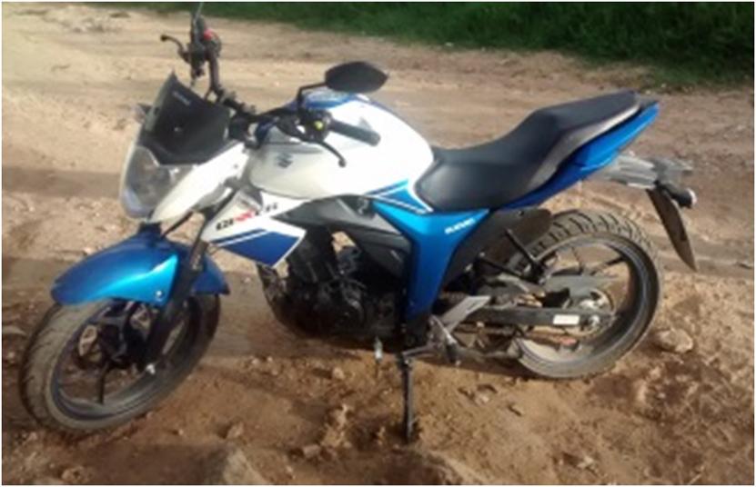 Abandonan motocicleta robada en  Santa Cruz Xoxocotlán, Oaxaca | El Imparcial de Oaxaca