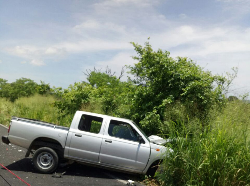 Choca patrulla en Tututepec | El Imparcial de Oaxaca