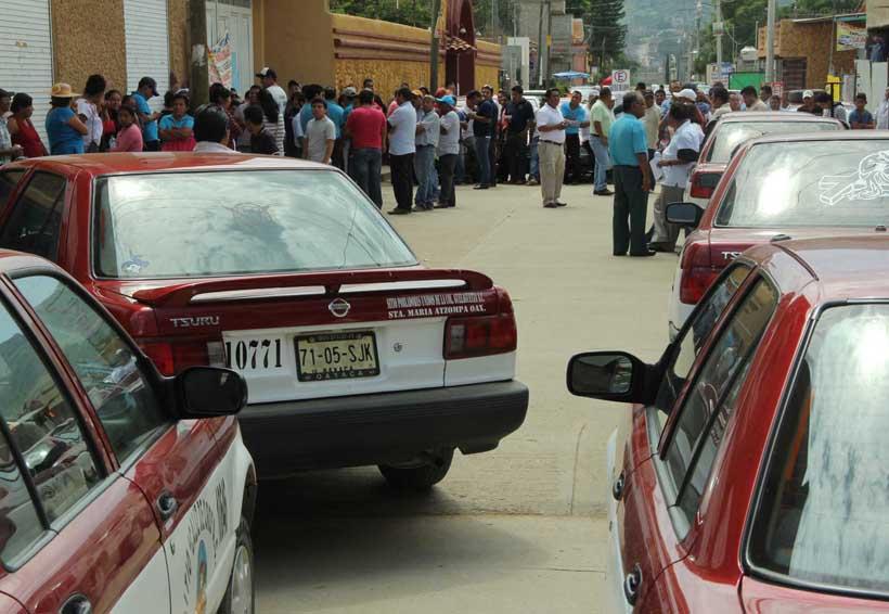 Ponen en marcha operativos contra transporte pirata en Oaxaca | El Imparcial de Oaxaca