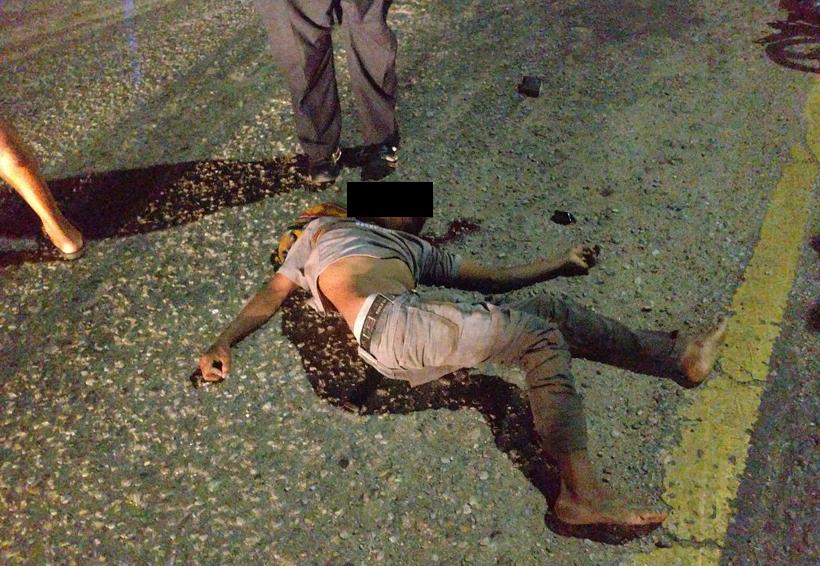 Derrapa ebrio motociclista en la Costa de Oaxaca   El Imparcial de Oaxaca