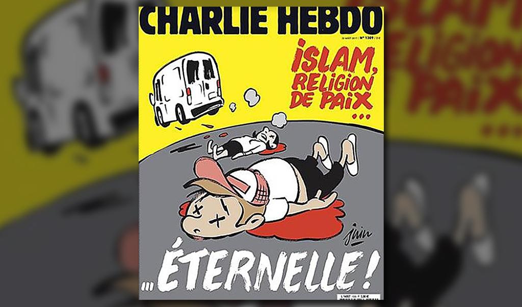 Causa polémica portada de Charlie Hebdo sobre atentado de Barcelona | El Imparcial de Oaxaca