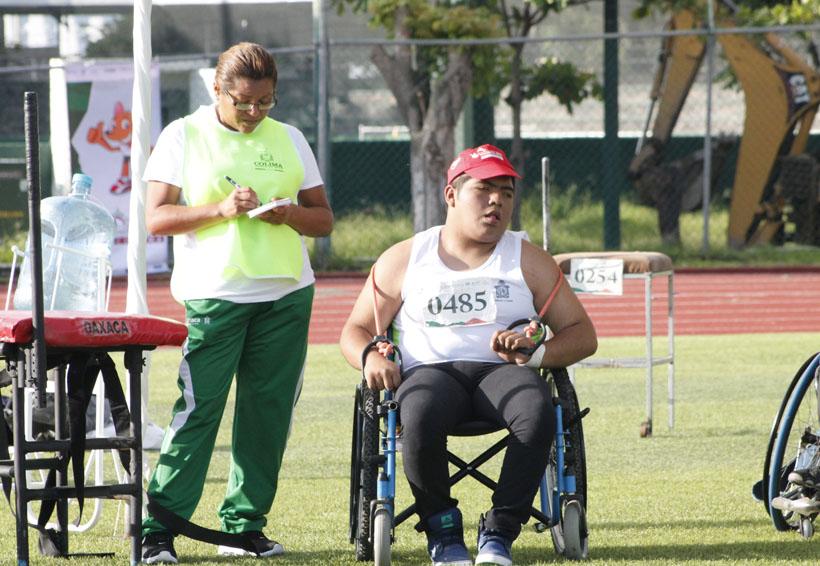 Ortiz Ramírez se queda con un cuarto lugar en la Paralimpiada Nacional 2017 | El Imparcial de Oaxaca
