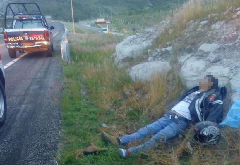 Muere derrapado joven motociclista en Oaxaca | El Imparcial de Oaxaca