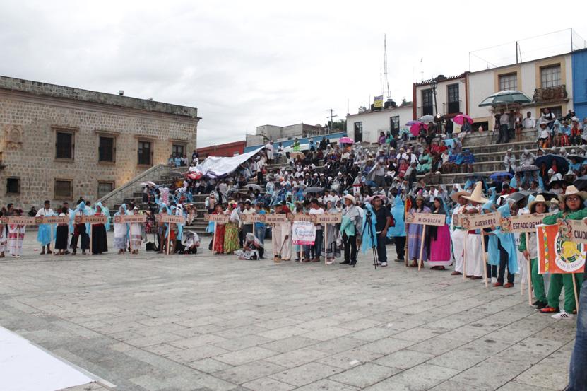 Oaxaca recibe a los deportistas autóctonos | El Imparcial de Oaxaca