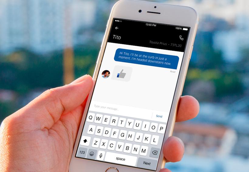 Uber moderniza su chat entre conductores y pasajeros y lo vuelve más funcional | El Imparcial de Oaxaca