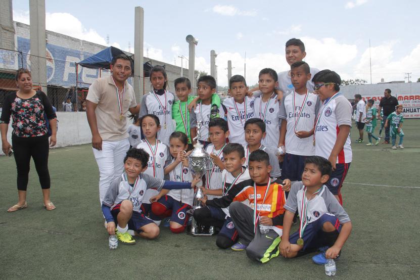 Zorritos se corona campeón infantil   El Imparcial de Oaxaca