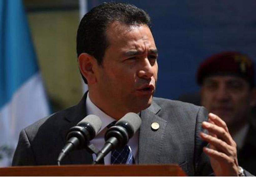Devuelve presidente de Guatemala millonario bono extraordinario | El Imparcial de Oaxaca