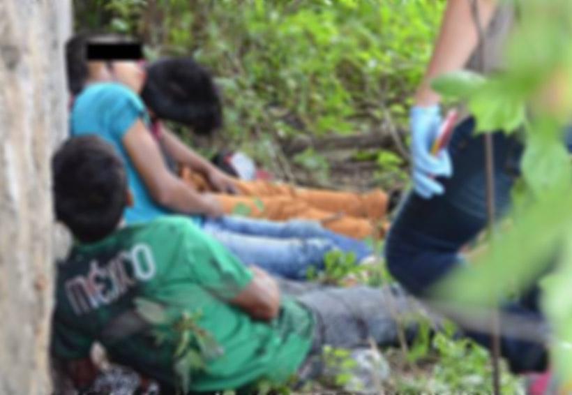 Conmociona imagen de padre e hijos ejecutados en Guerrero | El Imparcial de Oaxaca