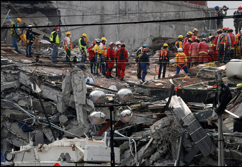 Por rescatar 30 cuerpos del edificio de Álvaro Obregón en CDMX   El Imparcial de Oaxaca