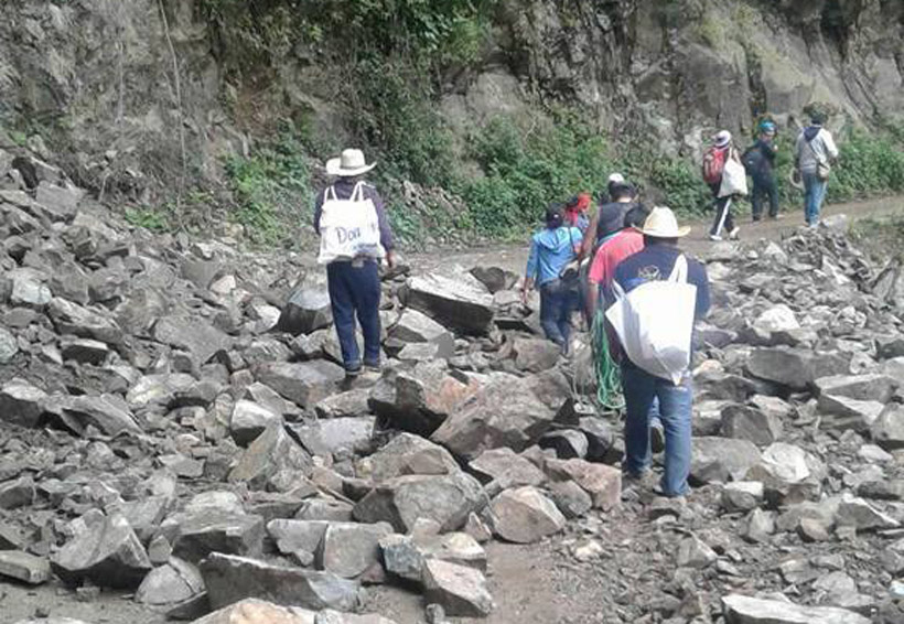 Reportan 32 pueblos incomunicados por las lluvias y el sismo en Oaxaca | El Imparcial de Oaxaca