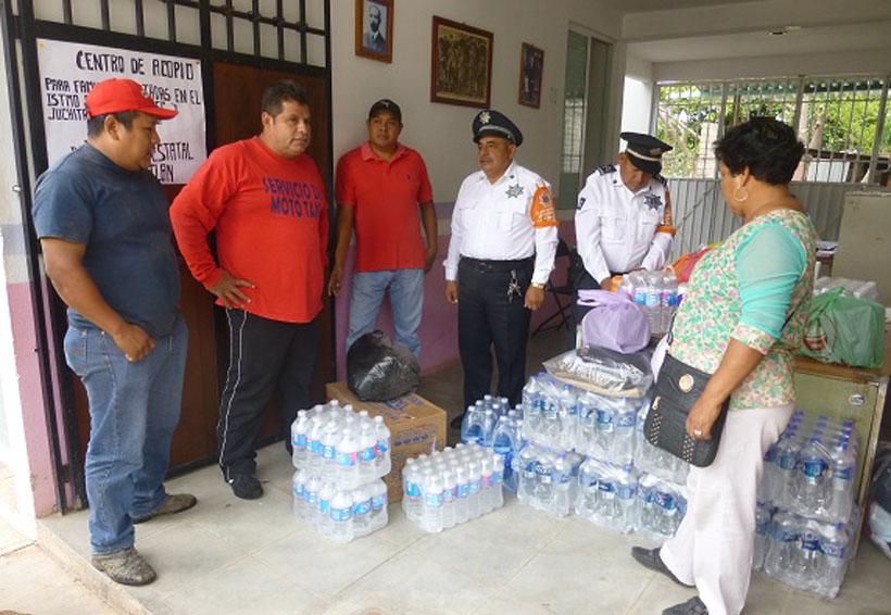 Se suman transportistas  cuicatecos a la campaña  Todos Somos Oaxaca | El Imparcial de Oaxaca