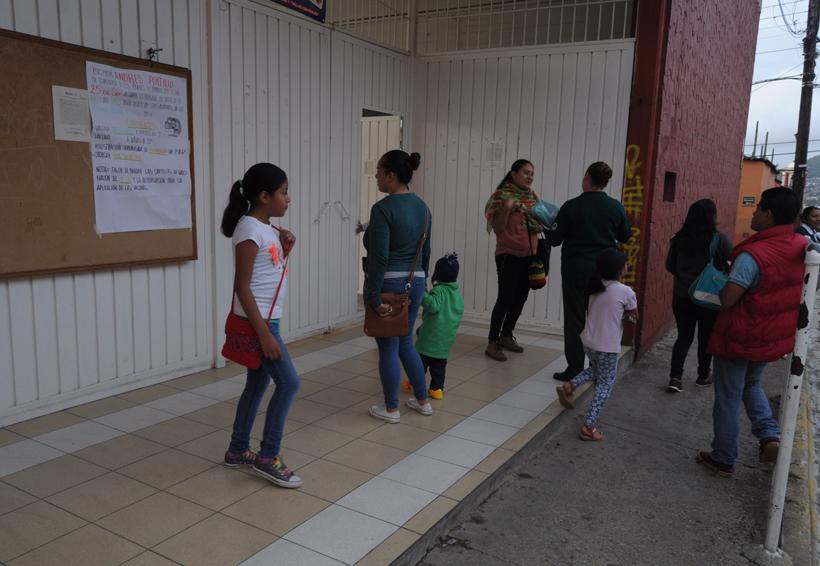 En Oaxaca, deciden padres reforzar estructura en escuelas | El Imparcial de Oaxaca