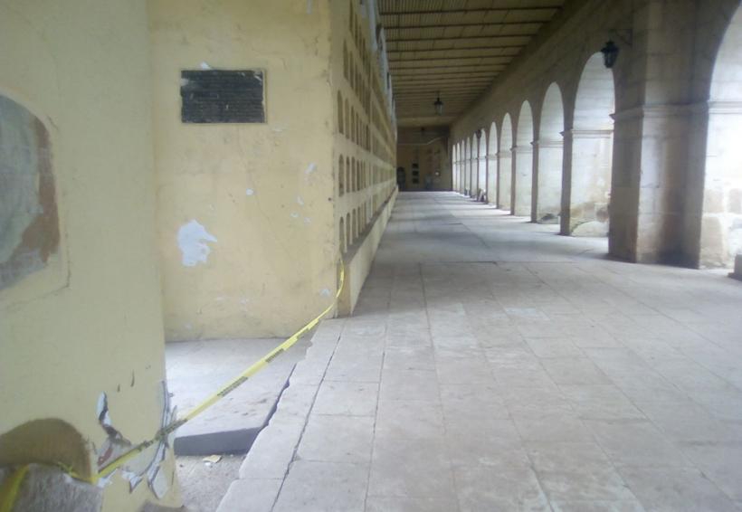 Panteón General, en Oaxaca, afectado por terremoto | El Imparcial de Oaxaca