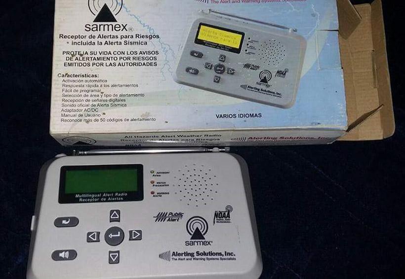 Rematan radios de alertamiento sísmico en Oaxaca | El Imparcial de Oaxaca