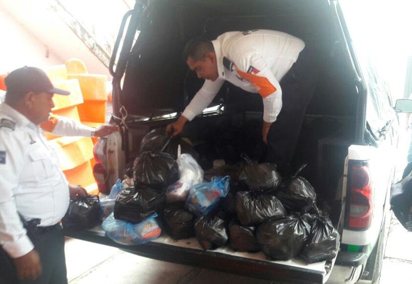 Transportistas de Huajuapan, Oaxaca apoyan a damnificados del Istmo | El Imparcial de Oaxaca