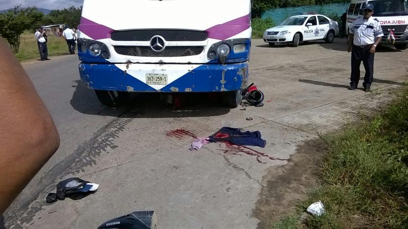 Motociclista pierde la lucha contra la muerte | El Imparcial de Oaxaca