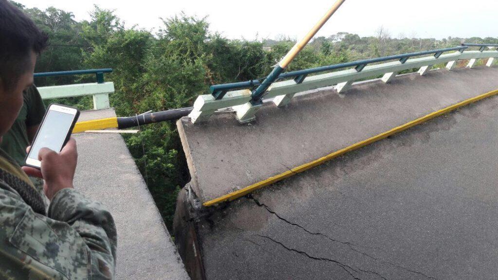 Continúan los sismos, SCT reporta severos daños en puente de Ixtaltepec | El Imparcial de Oaxaca