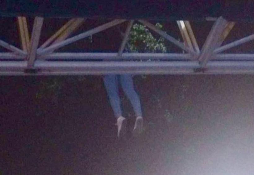 Localizan cadáver de mujer colgado de un puente | El Imparcial de Oaxaca