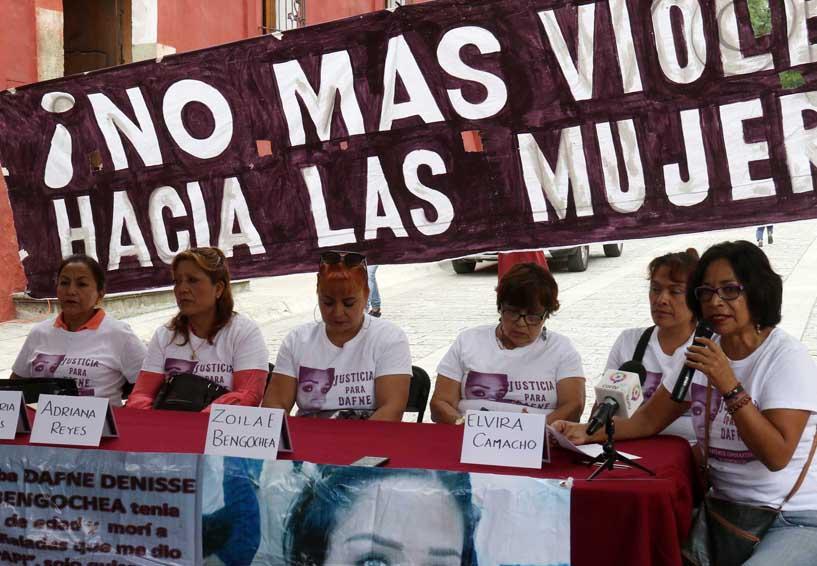 Piden justicia máxima para feminicida de Dafne en Oaxaca | El Imparcial de Oaxaca