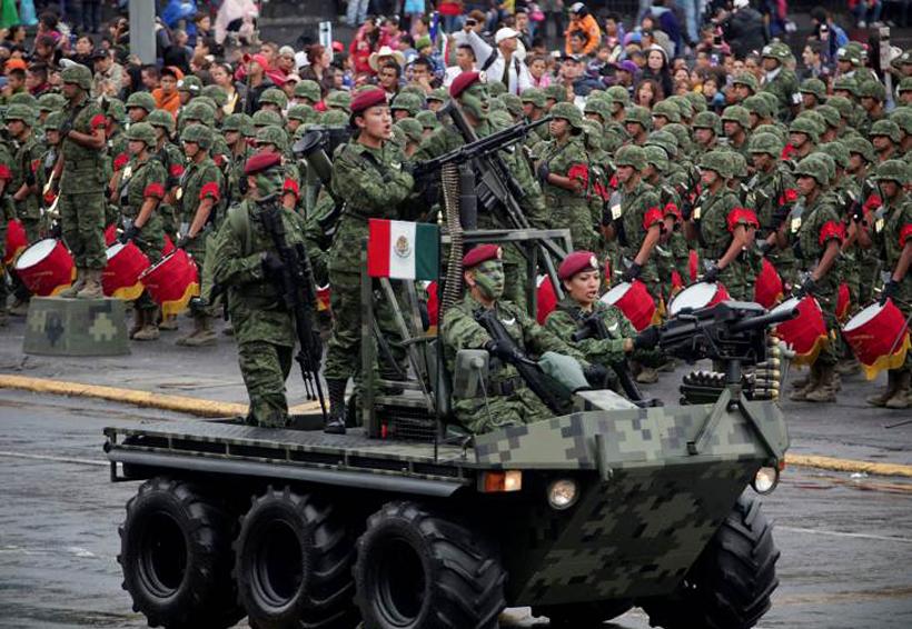Mujeres comandarán agrupamientos en desfile militar | El Imparcial de Oaxaca