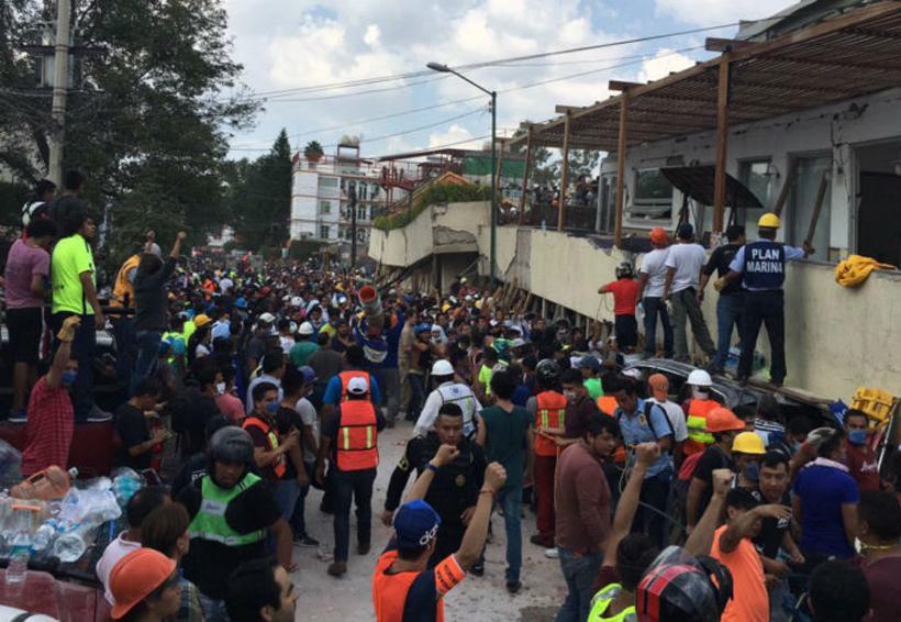 Se hará un peritaje sobre el colegio Enrique Rébsamen, previo a la demolición: Sheinbaum | El Imparcial de Oaxaca
