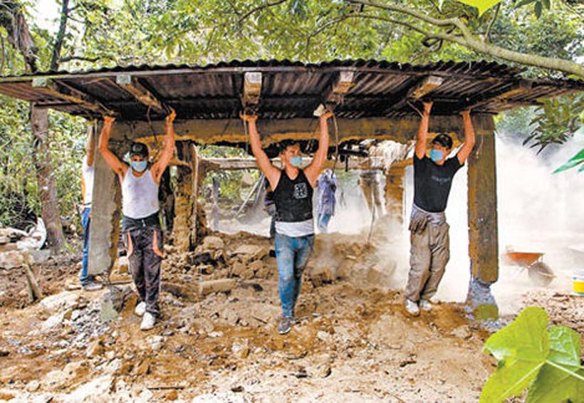 Damnificados del epicentro, perdieron todo en 40 segundo   El Imparcial de Oaxaca