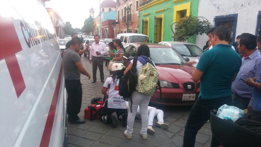 Arrollan a joven en el Centro Histórico en Oaxaca   El Imparcial de Oaxaca