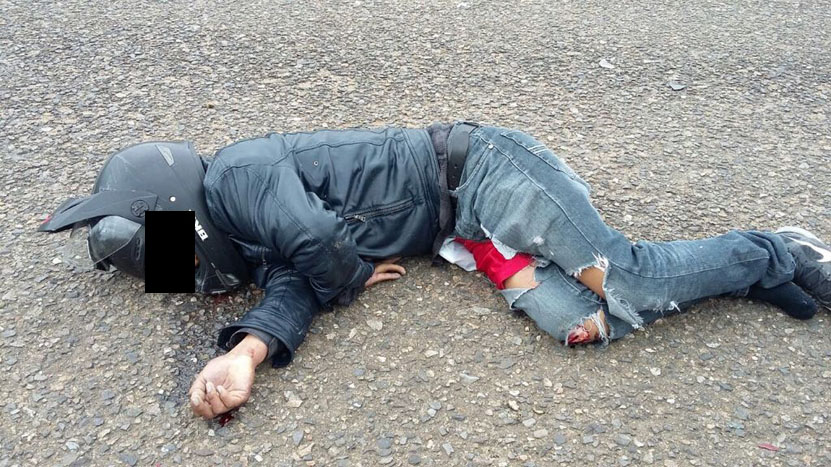 Muere motorista en choque en Puerto Ángel, Oaxaca | El Imparcial de Oaxaca