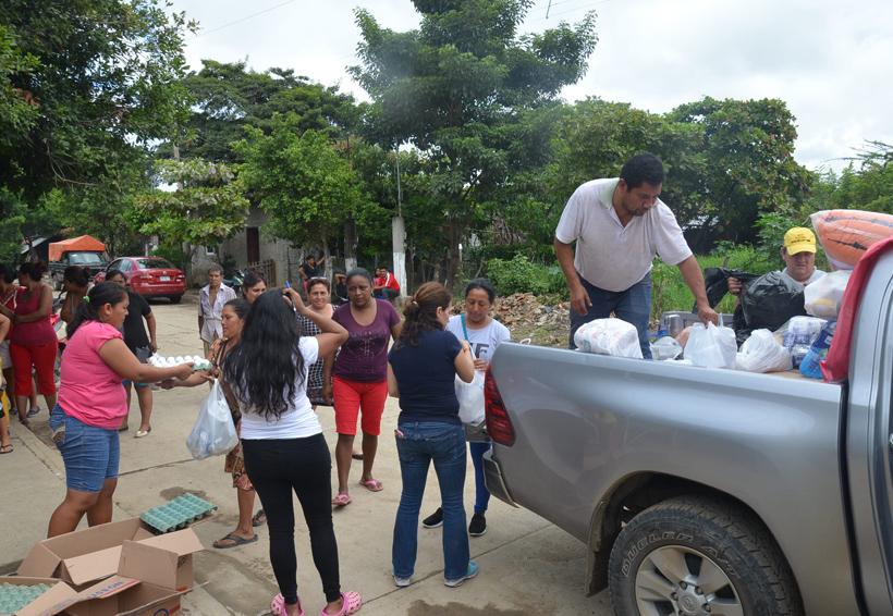 Se investigan casos de robo de víveres para damnificados en Oaxaca   El Imparcial de Oaxaca