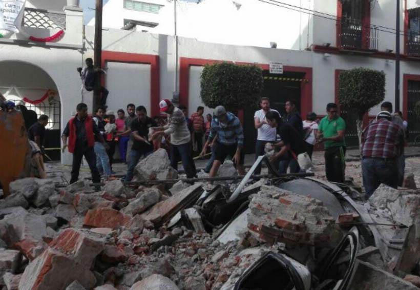 Continúan labores de rescate tras sismo de este sábado | El Imparcial de Oaxaca