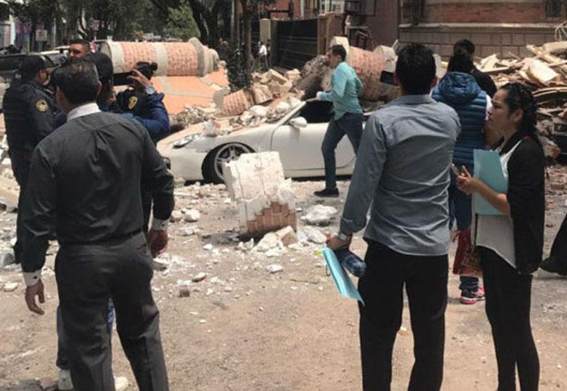 El C5 difunde grabaciones del momento del sismo en CDMX | El Imparcial de Oaxaca
