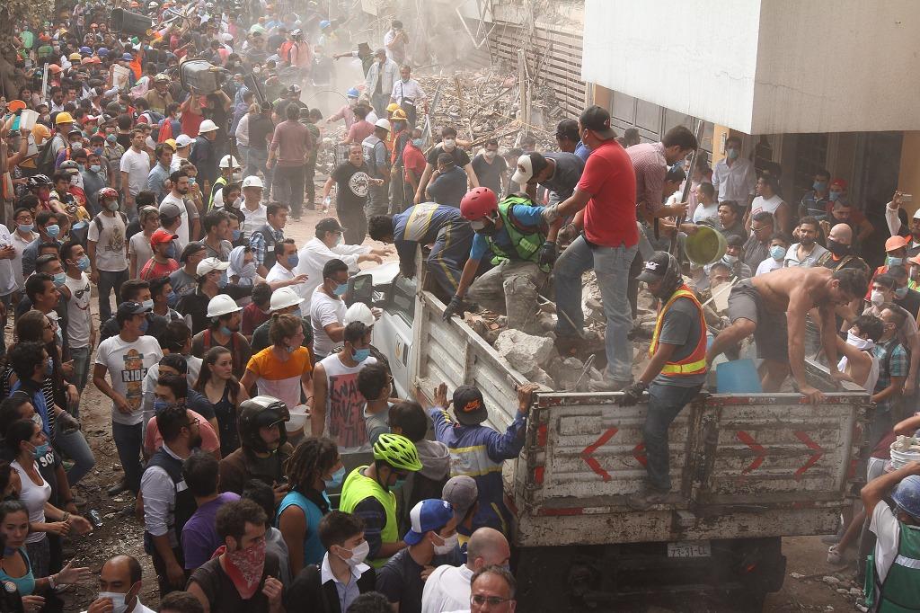 Suman ya 149 muertos por sismo de 7.1   El Imparcial de Oaxaca