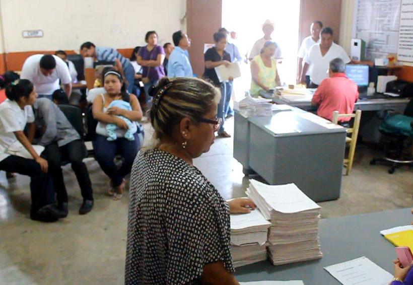 Registro Civil de Tuxtepec, sin material | El Imparcial de Oaxaca