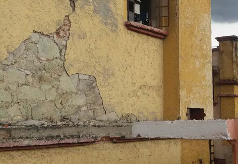 Temen en Oaxaca que barda del Templo de San Juan  de Dios se desplome | El Imparcial de Oaxaca