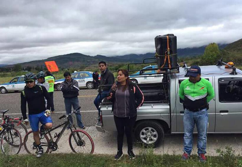 Ciclistas de la Mixteca  piden justicia y respeto | El Imparcial de Oaxaca