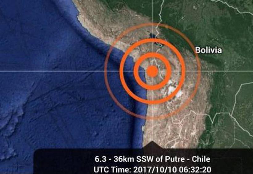 Sismo de 6.3 en Chile deja daños materiales | El Imparcial de Oaxaca