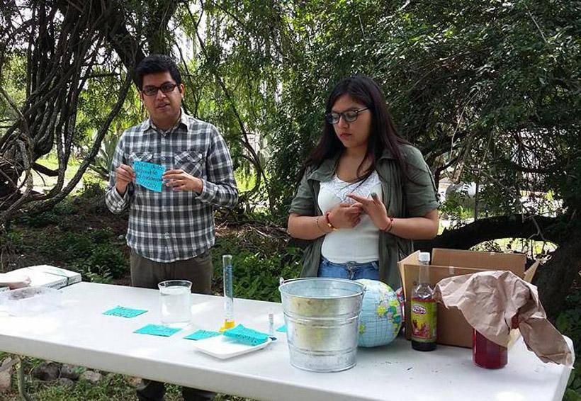 Estudiantes limpian aguas residuales con plantas y lombrices | El Imparcial de Oaxaca