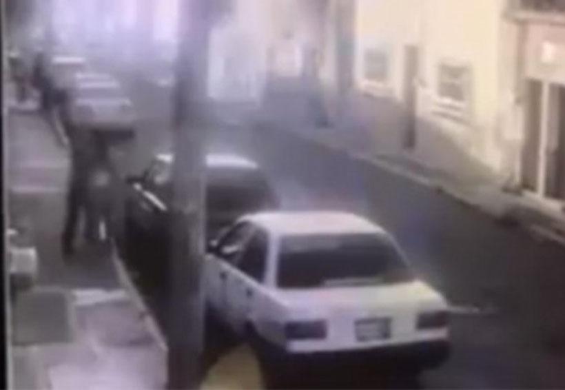 Cámaras de seguridad captan feminicidio en plena calle   El Imparcial de Oaxaca