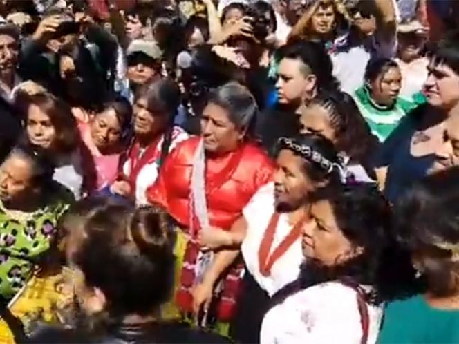 Se registra Marichuy ante el INE como aspirante presidencial | El Imparcial de Oaxaca