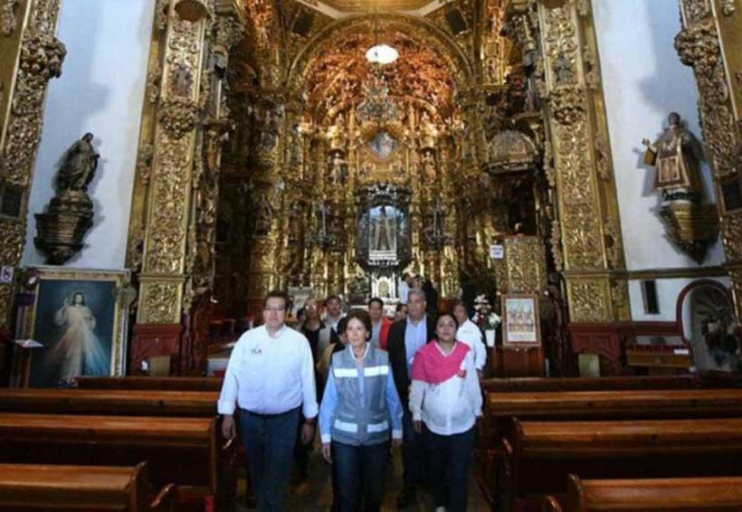 Recuperan patrimonio de Tlaxcala afectado por sismo | El Imparcial de Oaxaca