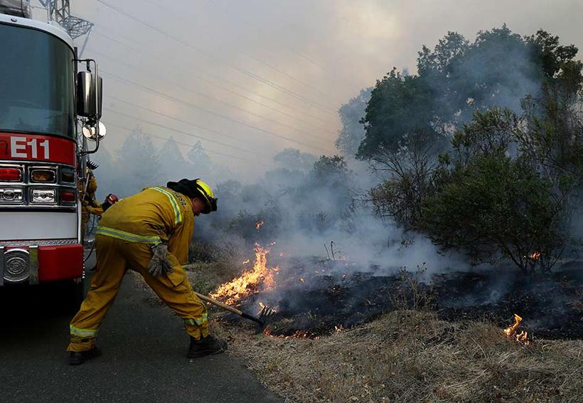 Incendios en California fuera de control; van 17 muertos | El Imparcial de Oaxaca