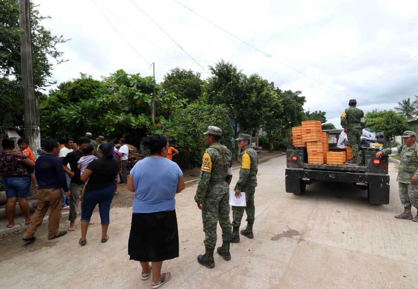 Se entregan apoyos casa por casa en el Istmo, Oaxaca | El Imparcial de Oaxaca