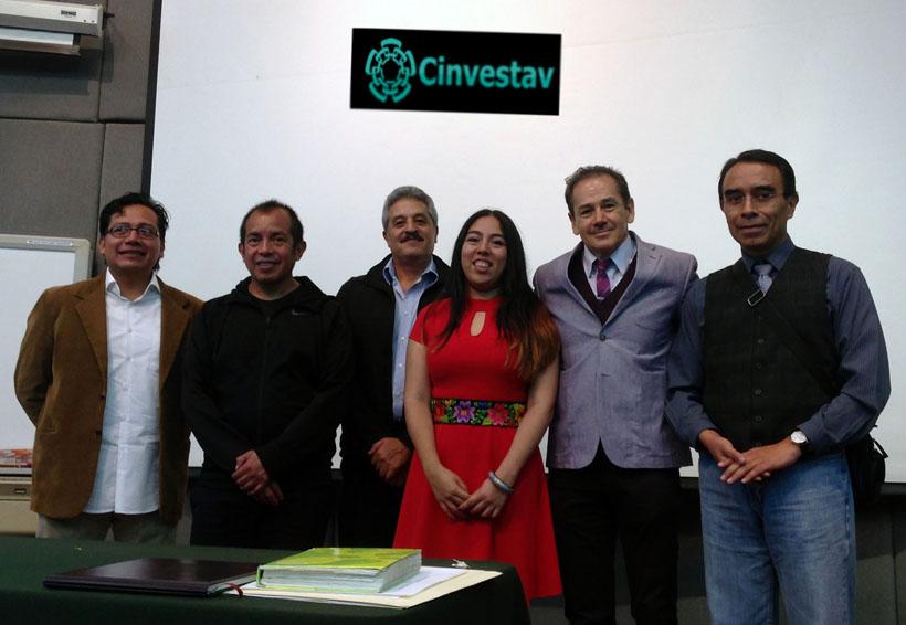 Viridiana Gracida se titula como doctora por el Cinvestav | El Imparcial de Oaxaca