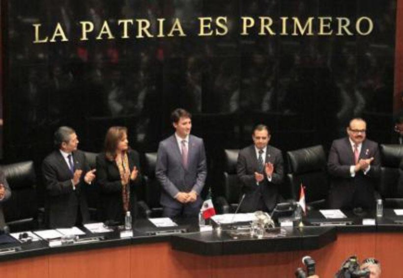 Video: Trudeau cita a Benito Juárez y pone de pie a los presentes | El Imparcial de Oaxaca