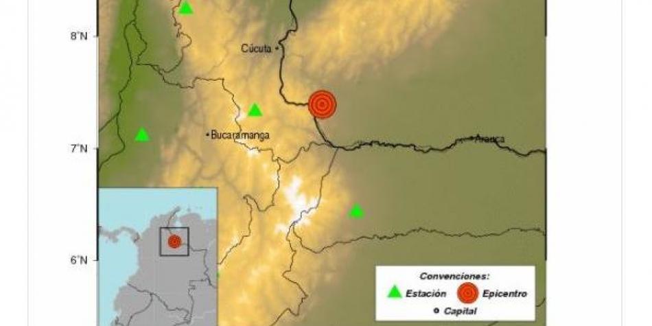 Despierta Colombia con sismo de 4.9 grados en frontera con Venezuela   El Imparcial de Oaxaca