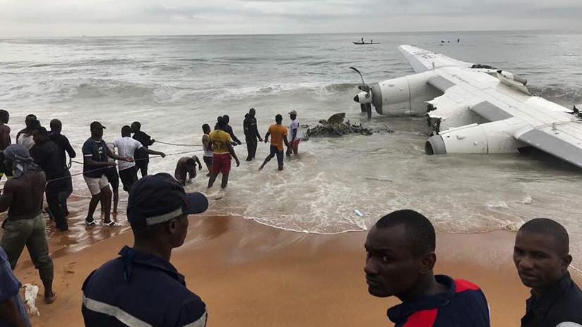 Video: Así quedó el avión que se estrelló en el mar y dejó 4 muertos | El Imparcial de Oaxaca