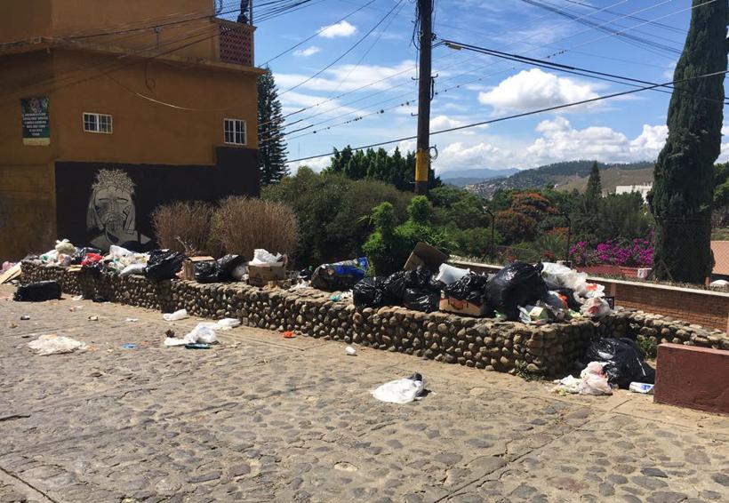 Inundan de basura las calles de la ciudad de Oaxaca | El Imparcial de Oaxaca