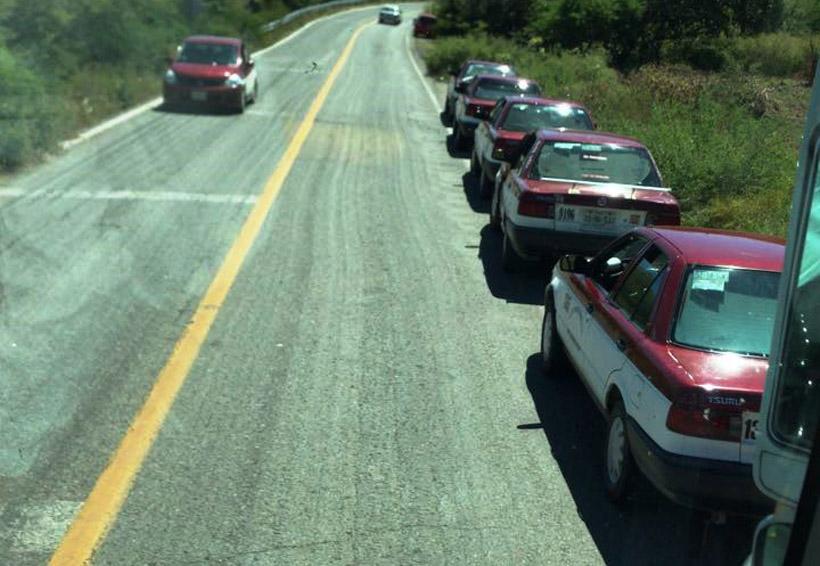 Bloqueos en el Istmo afectan a las  empresas camioneras   El Imparcial de Oaxaca