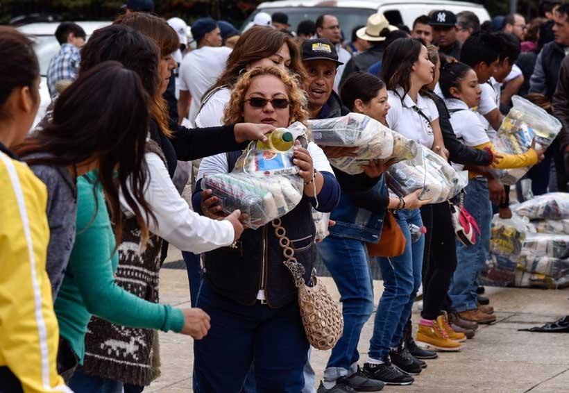 Mexicanos en Canadá continúan con ayuda a damnificados por sismos | El Imparcial de Oaxaca